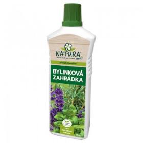 Kapalné hnojivo na bylinky, Natura BYLINKOVÁ ZAHRÁDKA, balení 0.5 l