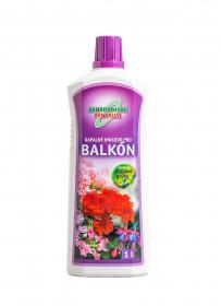 Kapalné hnojivo pro balkónové rostliny, balení 1 l