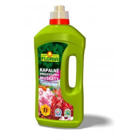 Kapalné hnojivo pro MUŠKÁTY, Floria, balení 1 l