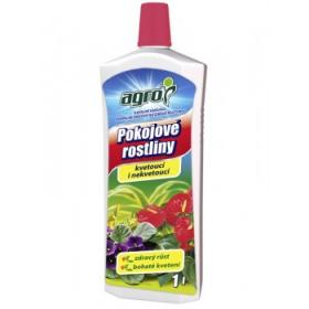 Kapalné hnojivo pro pokojové rostliny, Agro, balení 1 l
