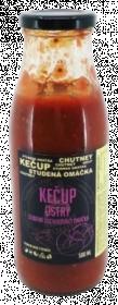 Kečup ostrý, Hradecké delikatesy, 500 ml