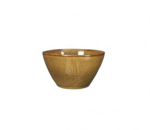 Keramická miska Mica TABO, glazovaná, průměr 11 cm, okrová