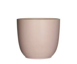 Keramický obal na květináč průměr 13,5cm - Řůžový