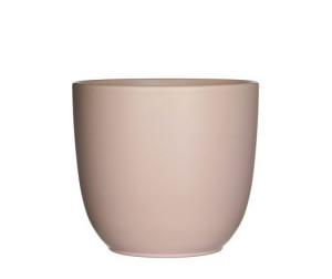 Keramický obal na květináč průměr 17cm - Řůžový