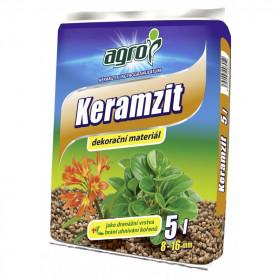 Keramzit Agro, velikost 8 - 16 mm, balení 5 l