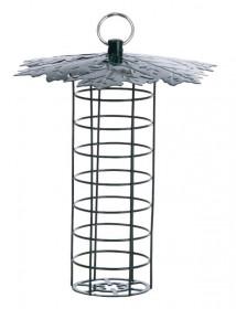 Kovové závěsné krmítko pro ptáky na lojové koule, Esschert Design LIST, zelené