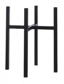 Kovový stojan na květináč Mica ASCOT XL 50, černý