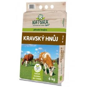 Kravský hnůj Natura, balení 6 kg