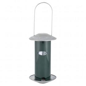 Krmítko a dávkovač semínek pro ptáky, Esschert Design, plast, zelené
