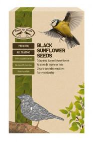 Krmivo pro ptáky, Esschert Design Černá slunečnicová semena, 500 g