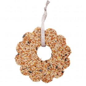 Krmivo pro ptáky, Esschert Design květ, 10.9 - 15.3 cm, lisovaný ptačí zob, 335 g