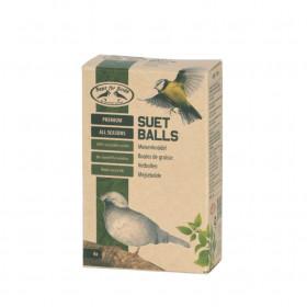 Krmivo pro ptáky, Esschert Design Lojová koule celoroční, 6 ks