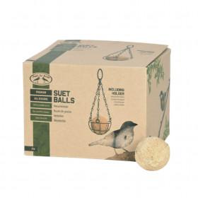 Krmivo pro ptáky XL, Esschert Design Lojová koule s bobulemi, 35 ks