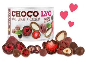 Křupavé ovoce a ořechy v čokoládě, Mixit, dóza, 180 g