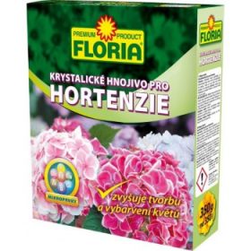 Krystalické hnojivo pro HORTENZIE, Floria, balení 350 g
