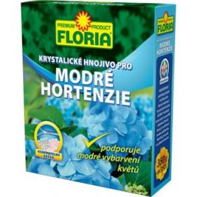 Krystalické hnojivo pro MODRÉ HORTENZIE, Floria, balení 350 g