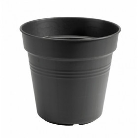 Květináč Green Basics living černý průměr 24cm