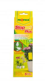 Lepové desky proti škůdcům, Propher STOPSET PLUS, žluté, balení 5 ks