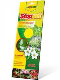 Lepové desky proti škůdcům, Propher STOPSET, žluté, balení 5 ks
