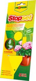 Lepové šipky proti škůdcům, Propher STOPSET, žluté, balení 5 ks