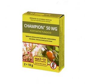 Likvidátor chorob a plísní, CHAMPION 50 WG, balení 2 x 10 g