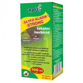 Likvidátor plevele, Agro GLYFO KLASIK STRONG, balení 100 ml
