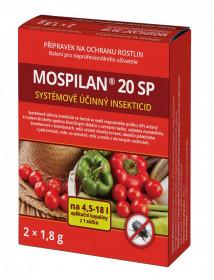 Likvidátor škůdců, MOSPILAN 20 SP, balení  2 x 1.8 g