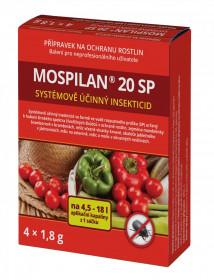 Likvidátor škůdců, MOSPILAN 20 SP, balení  4 x 1.8 g