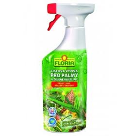 Listová výživa pro PALMY a ZELENÉ ROSTLINY, Floria, balení 500 ml