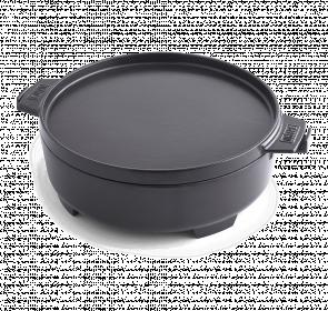 Litinový hrnec 2v1 pro grilovací rošty Weber Gourmet BBQ, objem 6,8 l