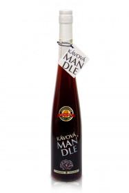 Mandlový likér, Hustopečská mandlárna Kávová mandle 25% obj., 0.5 l