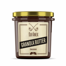 Máslo oříškové granola butter 330g