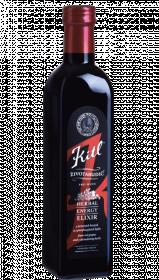 Medicinální bylinný sirup, Kitl Životabudič pro muže, bez cukru, 250 ml