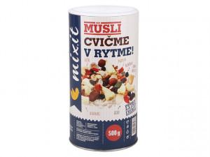 Müsli, Mixit CVIČME V RYTME, dóza, 500 g