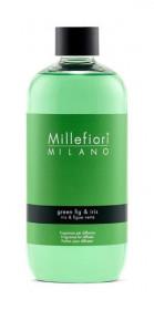 Náplň do aroma difuzéru, Millefiori Natural, Green Fig & Iris, provonění 90 dní
