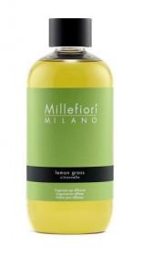 Náplň do aroma difuzéru, Millefiori Natural, Lemon Grass, provonění 90 dní
