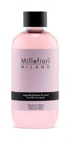 Náplň do aroma difuzéru, Millefiori Natural, Magnolia Blossom & Wood, provonění 90 dní