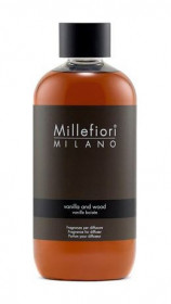 Náplň do aroma difuzéru, Millefiori Natural, Vanilla & Wood, provonění 90 dní