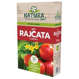 NATURA hnojivo organické rajčata a papriky 1,5kg
