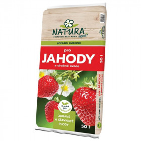 NATURA Substrát pro jahody a drobné ovoce 50l