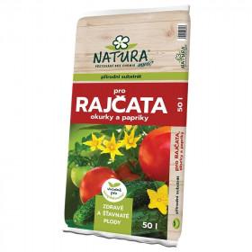 NATURA Substrát pro rajčata, okurky a papriky 50l