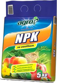 NPK se zeolitem, Agro, balení 5 kg