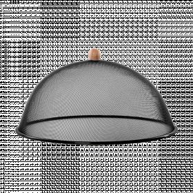 Ochranný poklop na potraviny, Esschert Design, průměr 43 cm, černý