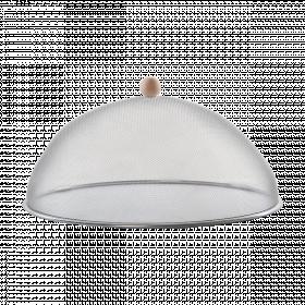 Ochranný poklop na potraviny, Esschert Design, průměr 43 cm, stříbrný