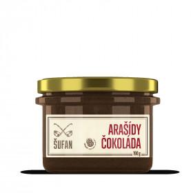 Ořechové máslo, Šufan Arašídy - čokoláda, 190 g