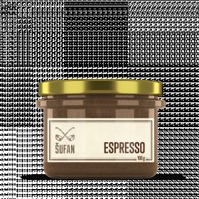 Ořechové máslo, Šufan Espresso, 190 g