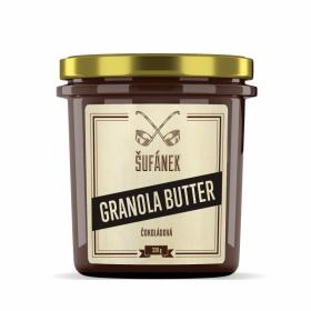 Ořechové máslo, Šufan Granola Butter Čokoládová, 330 g