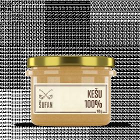 Ořechové máslo, Šufan Kešu 100%, 190 g
