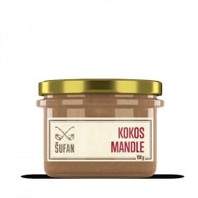 Ořechové máslo, Šufan Kokos - mandle, 190 g