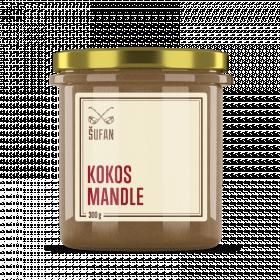 Ořechové máslo, Šufan Kokos - mandle, 330 g